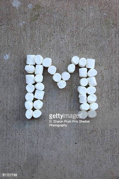 Letter M for Marshmallows