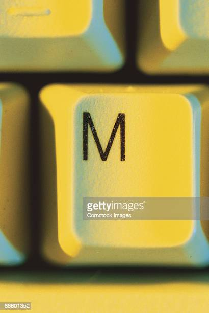 Letter M on keyboard