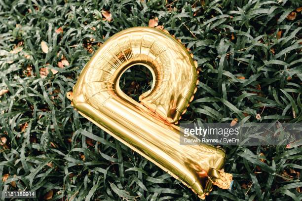 letter p balloon on plants - letter p stock pictures, royalty-free photos & images
