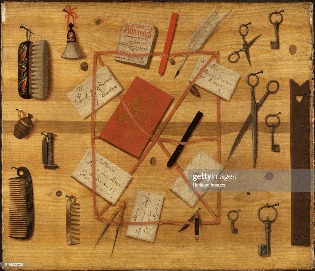 Letter Rack. Trompe-Loeil, : News Photo