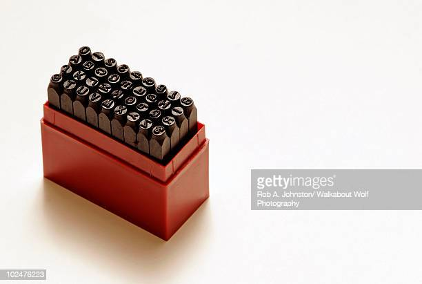 Letter stamp kit