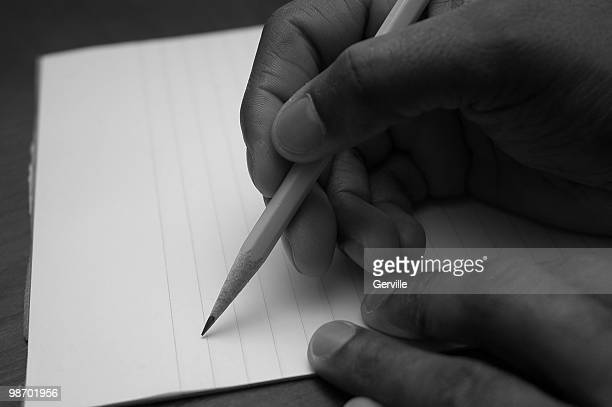 letter writing - the_writer's_block stock pictures, royalty-free photos & images