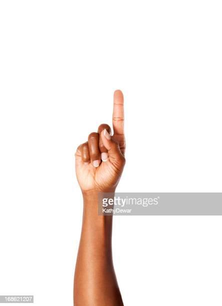 Lettre Z en langage des signes américain
