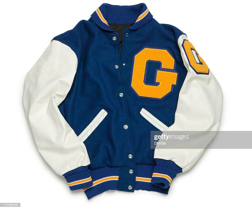 Letterman's Jacket : Stock Photo