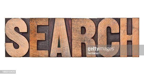 Recherche typographie des lettres