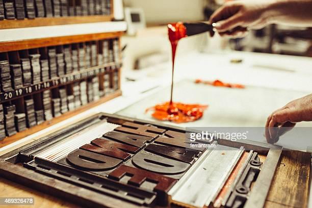 Tipografía de impresión