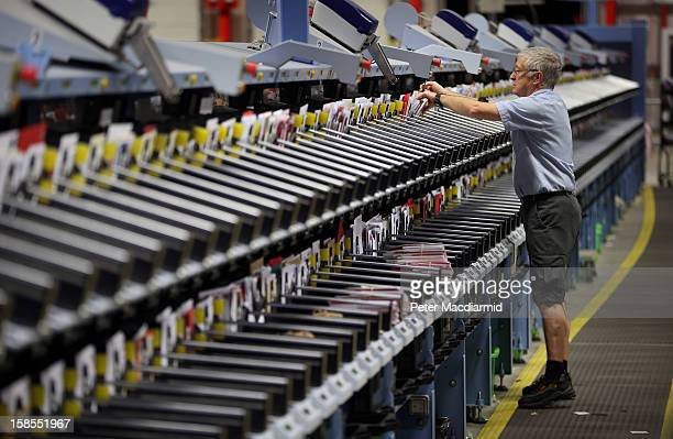 Letters are collected from an automatic sorting machine at Royal Mail's Medway Sorting Centre on December 18 2012 in Rochester England The recently...