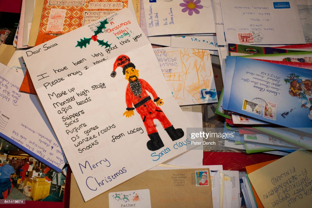 Santa's Post Office in Lapland, Finland : News Photo
