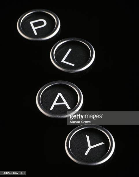 Player Buttons Set Stock Photos And Pictures Getty Images
