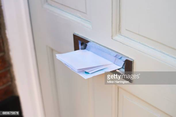 Letters in letterbox