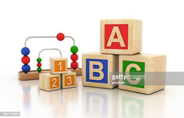Letters Kids Blocks
