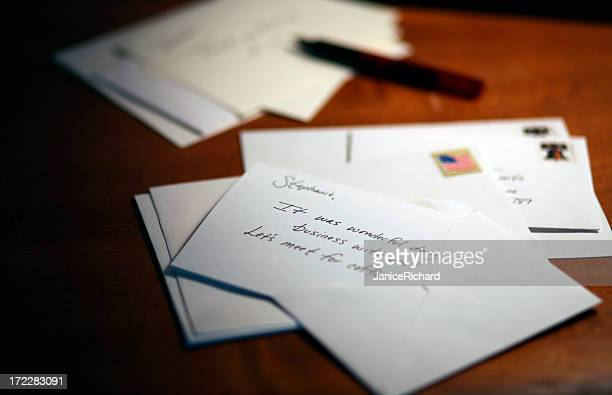Letters on a Desk
