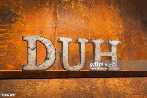 Letters on Rust – DUH