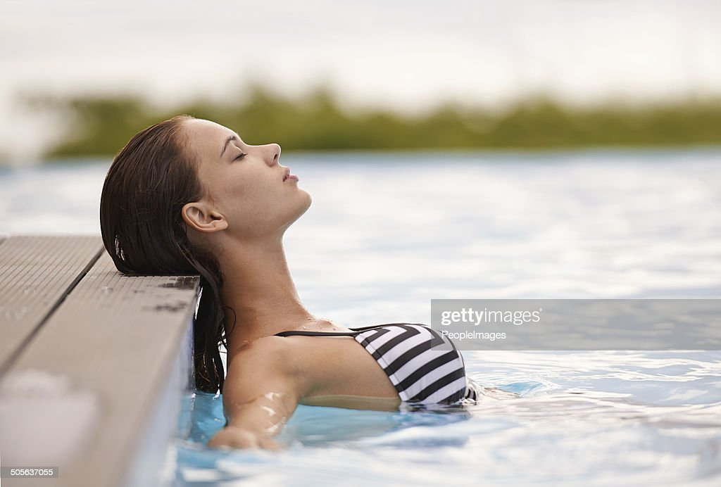 Letting all my cares drift away : Stock Photo