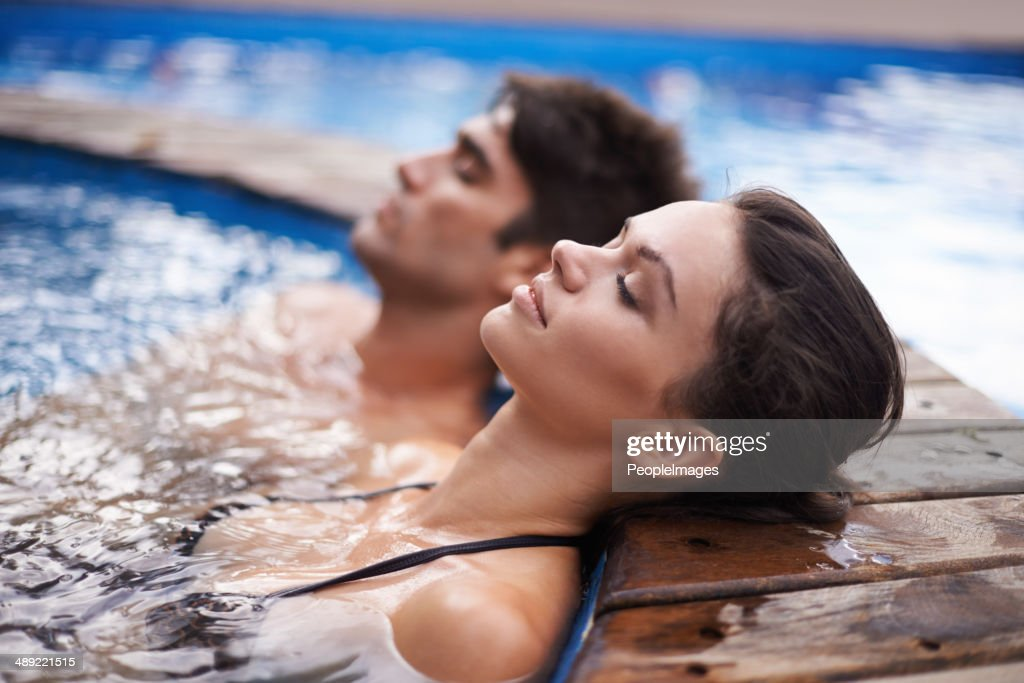 Letting their minds drift : Stock Photo