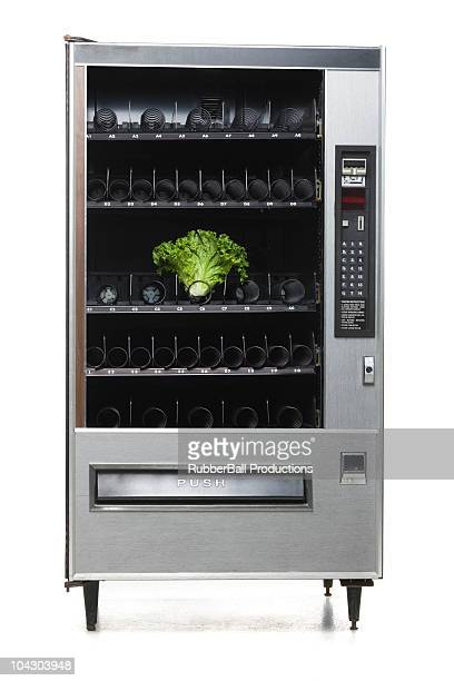 lettuce in a vending machine