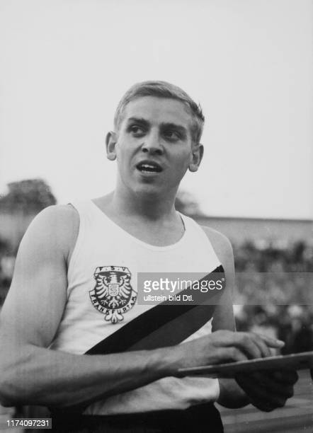 Letzigrund meeting 1960: Armin Hary, after his world record 100m in 10sec., race will be re-runned