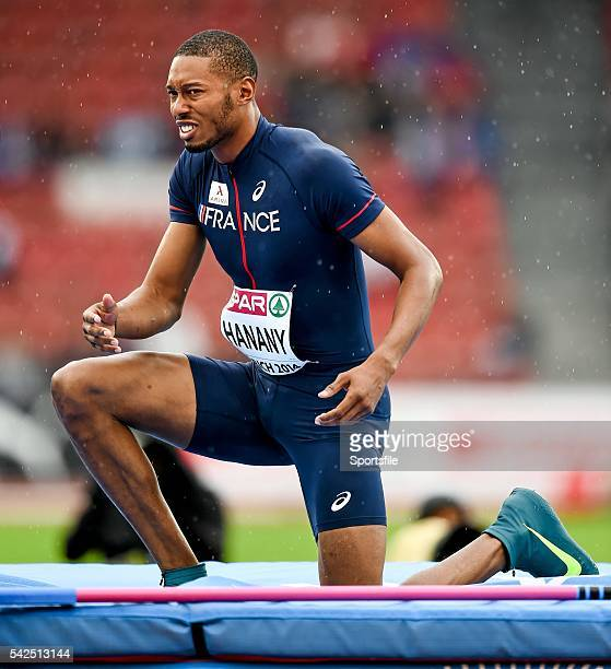 13 August 2014 Michael Hanany of France during qualification of the men's high jump event European Athletics Championships 2014 Day 2 Letzigrund...