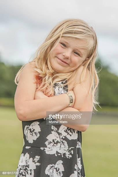 Leukemia Cancer Survivor Piper Apfel at International Polo Club Palm Beach on January 16 2017 in Wellington Florida