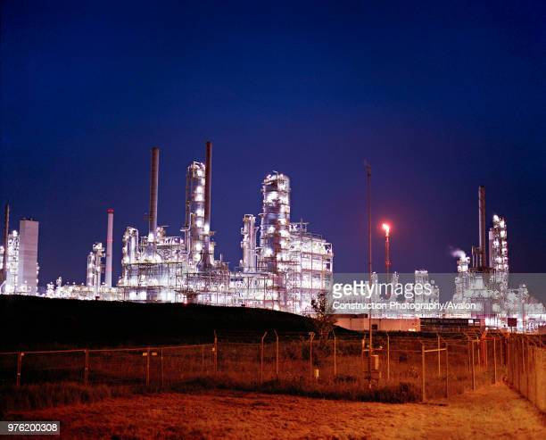 Leuna Refinery SaxoniaAnhalt Germany The stateoftheart Leuna refinery built in 1997 in Eastern Germany on the site of the old LeunaWerke plant by the...