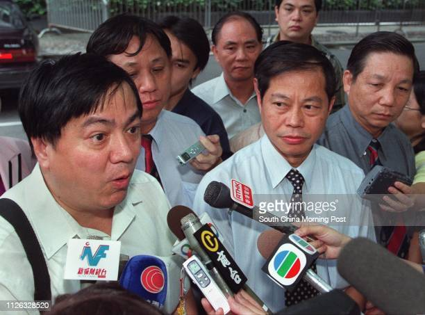 Leung Chauting President of Federation of Civil Service Unions Lung Wingfat Staff Side Chairman of Model Scale One Consultative Council Felix Cheung...