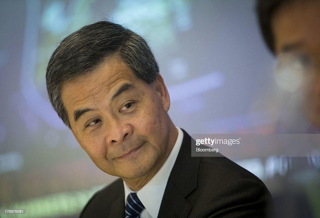Hong Kong Chief Executive Leung Chun-ying Interview