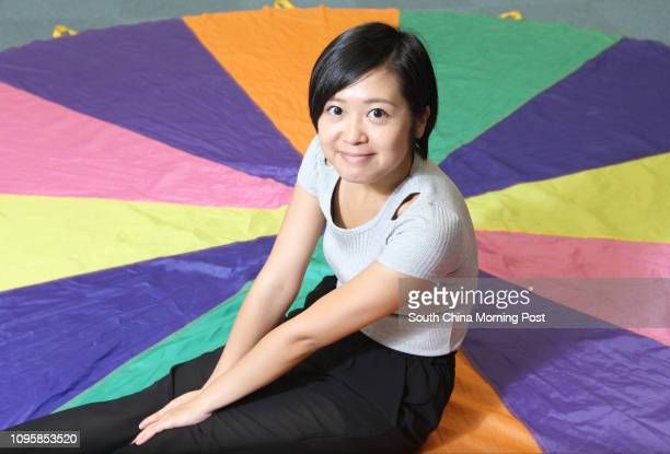 Leung Ying-man, the graduate of BU School of Continuing Education, poses for a picture at Madam Chan Wu Kwai SCE Tower, Hong Kong Baptist University,...