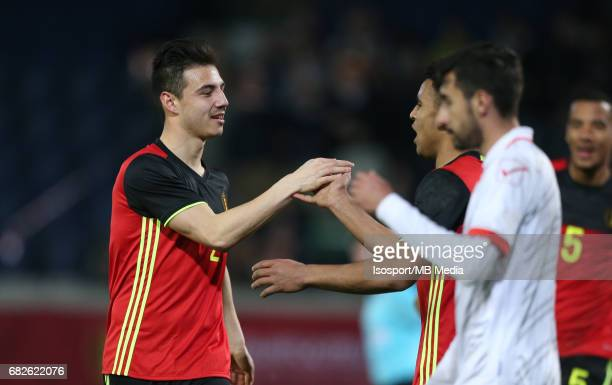 20170327 Leuven Belgium / Uefa U21 Euro 2019 Qualifying Belgium vs Malta / Dion COOLS Ryan MMAEE Vreugde Joie Celebration Picture by Vincent Van...