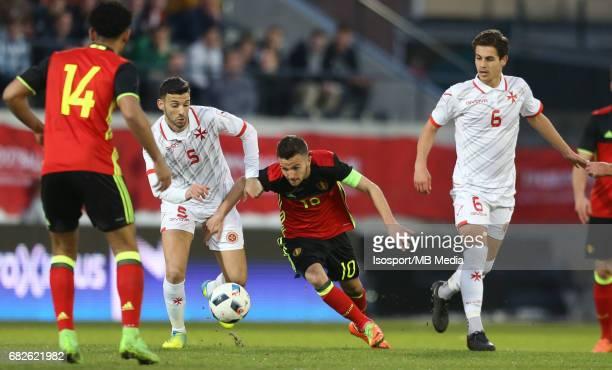 20170327 Leuven Belgium / Uefa U21 Euro 2019 Qualifying Belgium vs Malta / Dunstan VELLA Siebe SCHRIJVERS Picture by Vincent Van Doornick / Isosport
