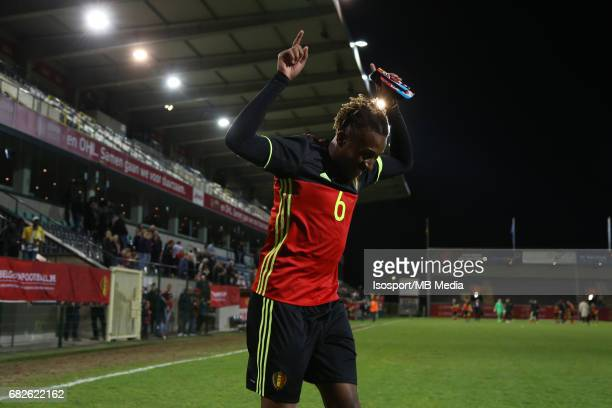 20170327 Leuven Belgium / Uefa U21 Euro 2019 Qualifying Belgium vs Malta / Samuel BASTIEN Vreugde Joie Celebration Picture by Vincent Van Doornick /...
