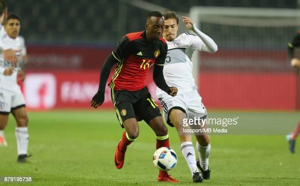 20171109 Leuven Belgium / Uefa U21 Euro 2019 Qualifying Group 5 Belgium v Cyprus / 'nDodi LUKEBAKIO Matija SPOLJARIC'nPicture by Vincent Van Doornick...