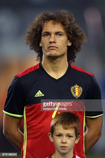 20171109 Leuven Belgium / Uefa U21 Euro 2019 Qualifying Group 5 Belgium v Cyprus / 'nWout FAES'nPicture by Vincent Van Doornick / Isosport