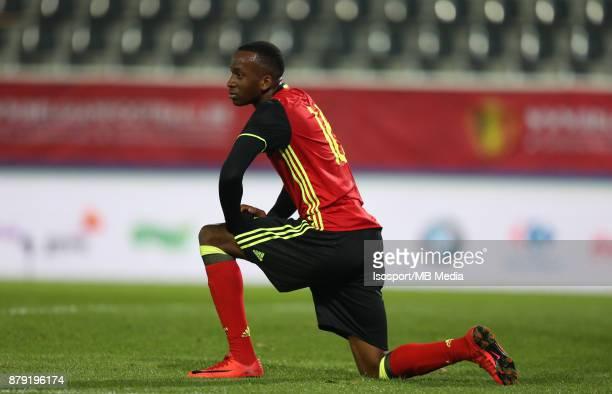 20171109 Leuven Belgium / Uefa U21 Euro 2019 Qualifying Group 5 Belgium v Cyprus / 'nDodi LUKEBAKIO'nPicture by Vincent Van Doornick / Isosport