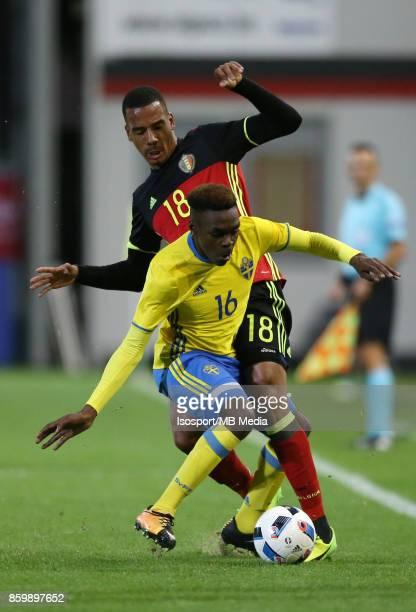 20171006 Leuven Belgium / Uefa U21 Euro 2019 Qualifying Group 5 Belgium v Sweden / 'nSenna MIANGUE Joel ASORO'nPicture by Vincent Van Doornick /...