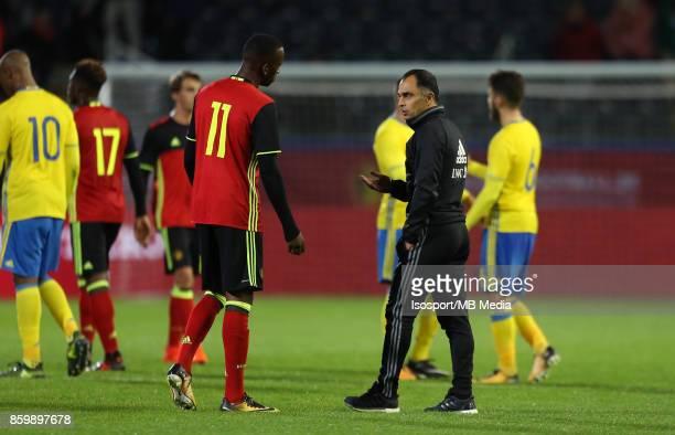 20171006 Leuven Belgium / Uefa U21 Euro 2019 Qualifying Group 5 Belgium v Sweden / 'nDodi LUKEBAKIO Johan WALEM 'nPicture by Vincent Van Doornick /...