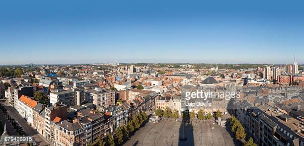 Leuven from tower of the university. Belgium