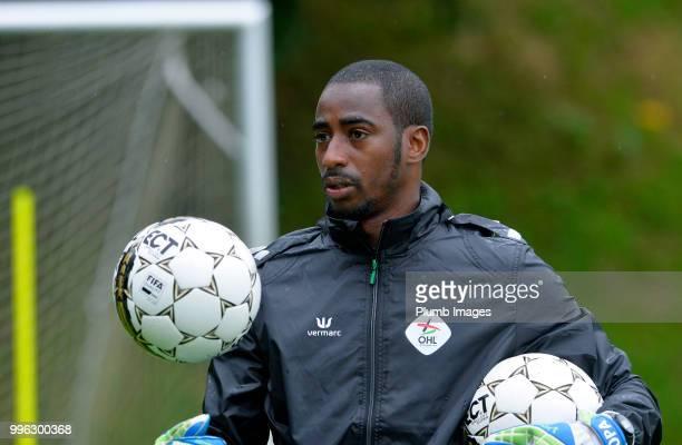 Leuven goalkeeping coach Boubacar Copa during the OH Leuven PreSeason Training Camp on July 11 2018 in Maribor Slovenia