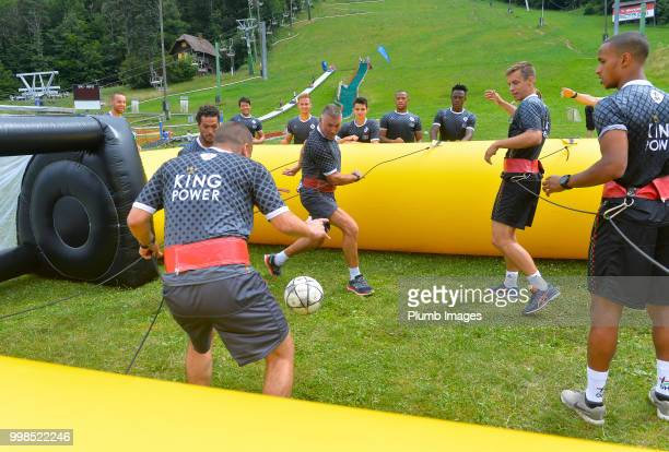Leuven Manager Nigel Pearson during team bonding activities during the OHL Leuven training session on July 09 2018 in Maribor Slovenia