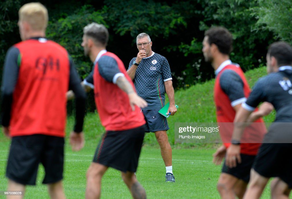 OH Leuven Manager Nigel Pearson during the OH Leuven Pre-Season Training Camp on July 12, 2018 in Maribor, Slovenia.