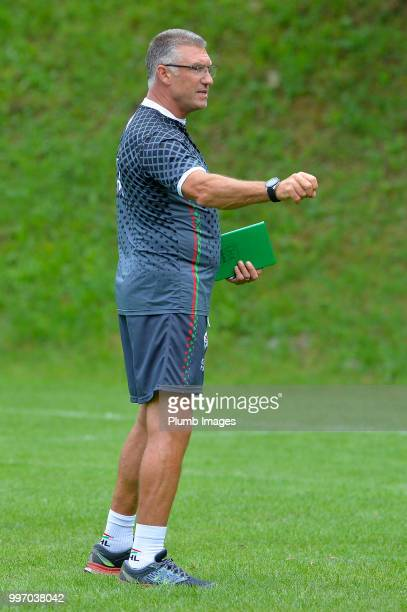 Leuven Manager Nigel Pearson during the OH Leuven PreSeason Training Camp on July 12 2018 in Maribor Slovenia