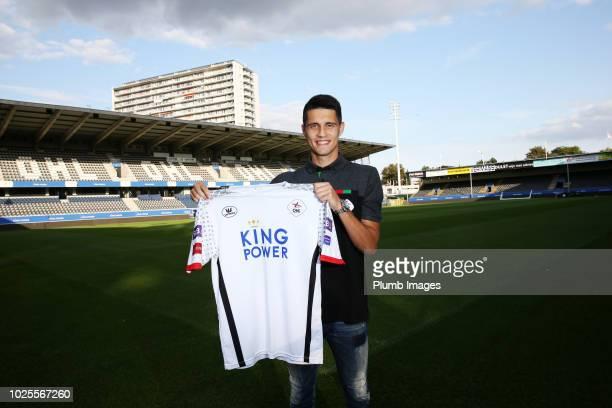 Leuven unveil new loan signing Bartosz Kapustka on August 31 2018 in Leuven Belgium