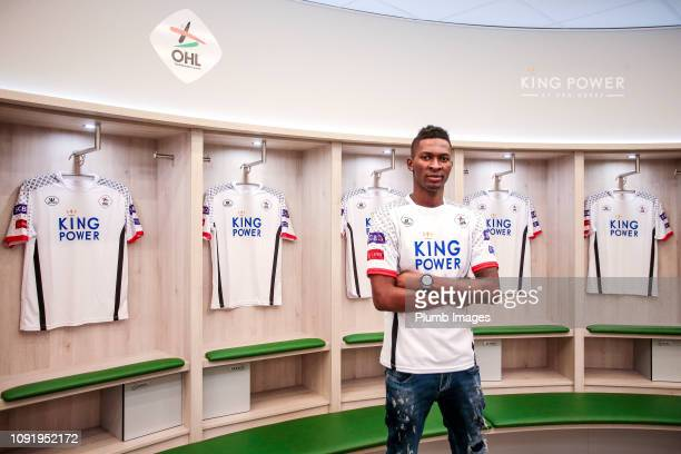 Leuven Unveil new signing Aboubakar Keita at King Power at Den Dreef Stadion on January 31 2019 in Heverlee Belgium