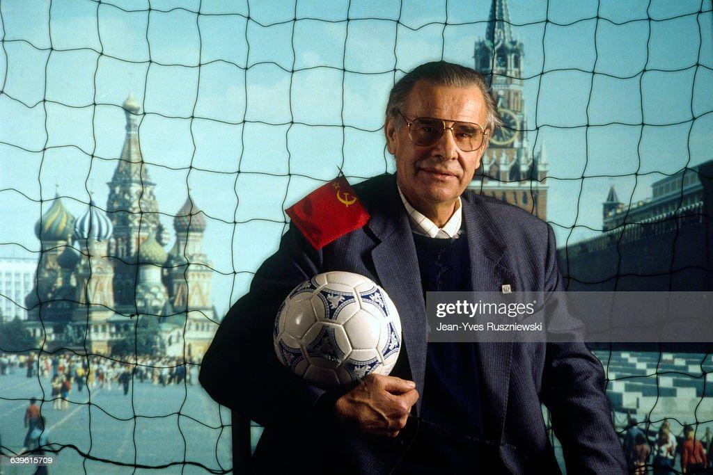 Russian Soviet Soccer Legend Lev Yashin : News Photo
