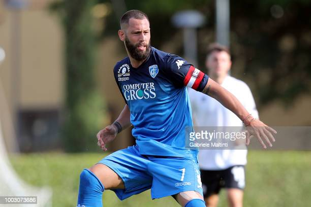 Levan Mchedlidze of Empoli FC in action during the PreSeason Friendly match between Pro Vercelli and Empoli FC on July 21 2018 in Florence Italy