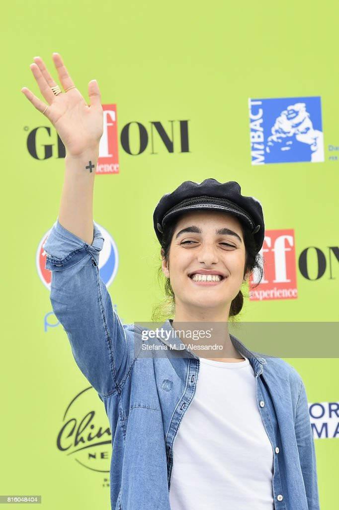 Levante attends Giffoni Film Festival 2017 Day 4 Photocall on July 17, 2017 in Giffoni Valle Piana, Italy.