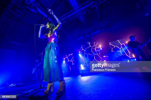Levante performs on stage at Alcatraz on May 16 2017 in Milan Italy