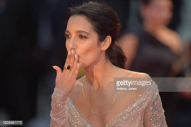Levante walks the red carpet ahead of the 'A Star Is Born' screening during the 75th Venice Film Festival at Sala Grande on August 31, 2018 in...