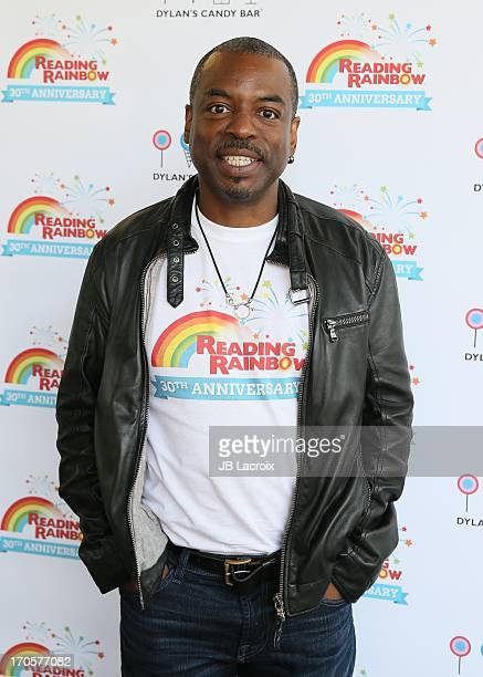 LeVar Burton appears at Dylan's Candy Bar on June 14 2013 in Los Angeles California