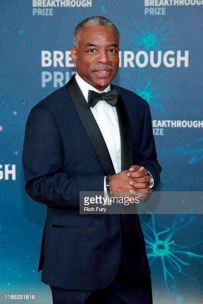 LeVar Burton attends the 8th Annual Breakthrough Prize Ceremony at NASA Ames Research Center on November 03, 2019 in Mountain View, California.