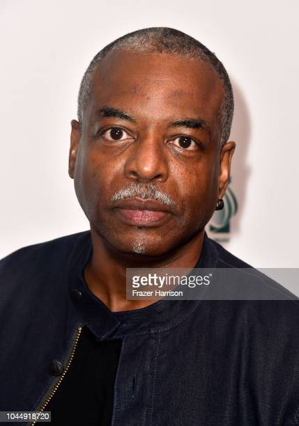 LeVar Burton attends the Premiere Of Vision Films' 'Living In The Future's Past' at Ahrya Fine Arts Theater on October 2 2018 in Beverly Hills...